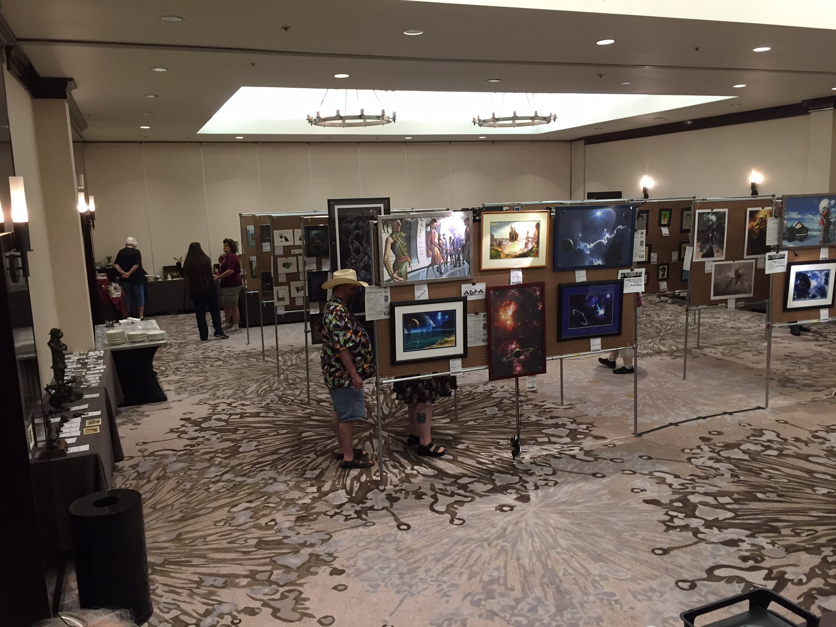 FenCon Art Show - Dallas, Texas